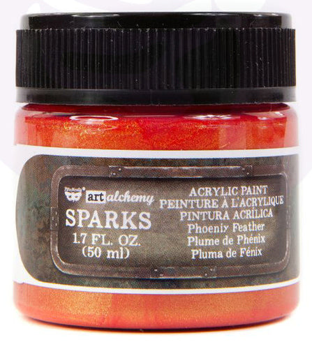 Sparks Acrylic Paint - Phoenix Feather