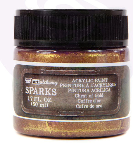 Sparks Acrylic Paint - Chest of Gold