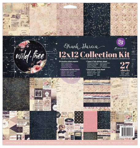 12x12 Collection Kit - Wild & Free