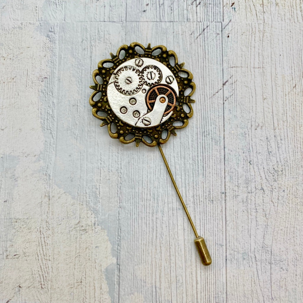 March Savers - Steampunk Pin