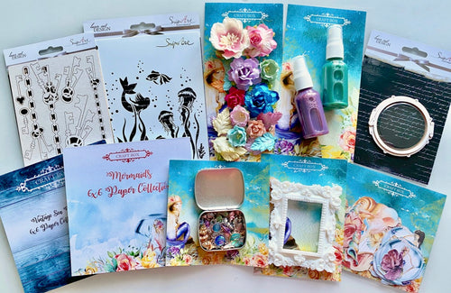 May 2020 Craft Box - Mermaids