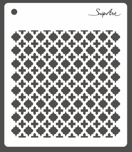 SnipArt Stencil: Ornate