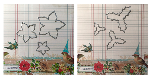 Official Foamiran Flower Dies - Poinsettia & Holly Set
