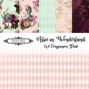 Alice in Wonderland 6x6 Companion Paper Pad