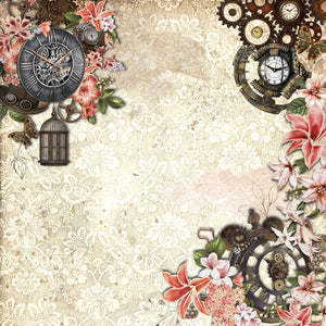 Steampunk Beauty 6x6 Paper Pad