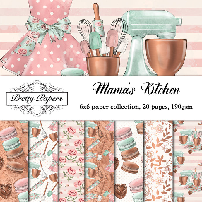 Mama's Kitchen Paper Pad (size options available)
