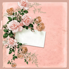 Load image into Gallery viewer, Vintage Peach Paper Pad (size options available)