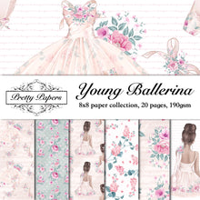 Load image into Gallery viewer, Young Ballerina Paper Pad (size options available)