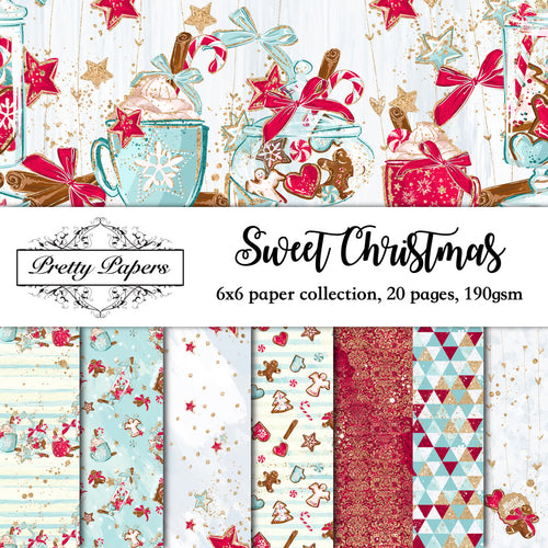 Sweet Christmas Paper Pad (size options available)