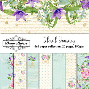 Floral Journey Paper Pad (size options available)