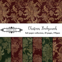 Load image into Gallery viewer, Christmas Backgrounds 8x8 Collection