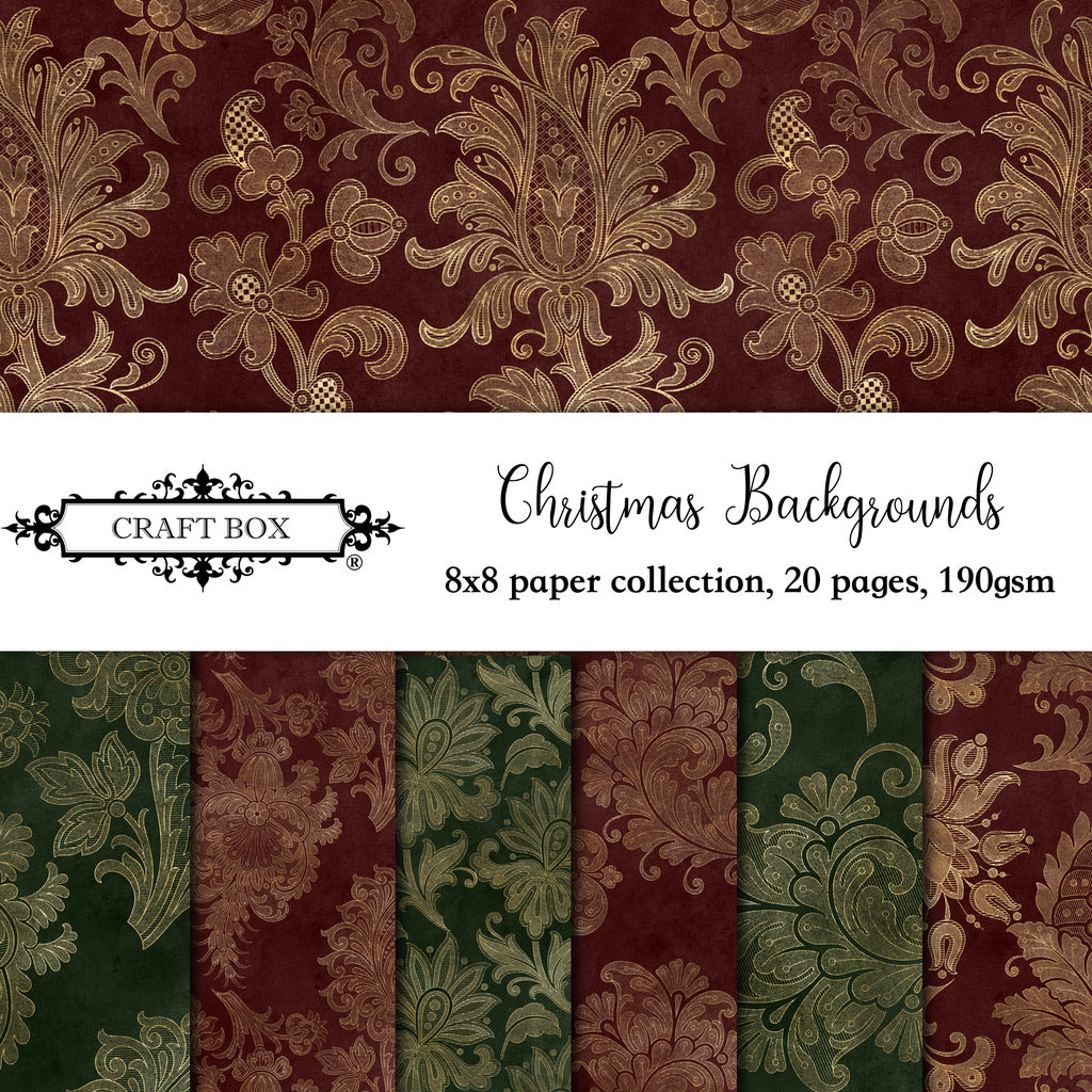 Christmas Backgrounds 8x8 Collection