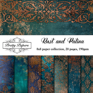 Rust and Patina Paper Pad (size options available)