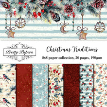 Load image into Gallery viewer, Christmas Traditions Paper Pad (size options available)