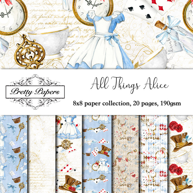 All Things Alice Paper Pad (size options available)