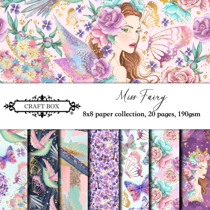 Miss Fairy Paper Pad (size options available)