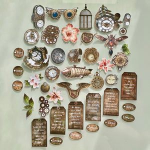 Steampunk Beauty Ephemera Jumbo Pack