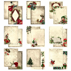Christmas Alice Journaling Cards (4x6 inch)