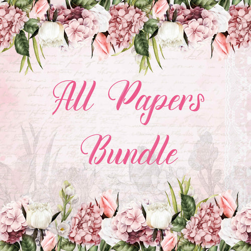 In My Garden All Papers Bundle