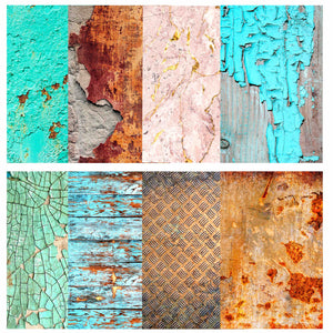 Shabby Backgrounds Rice Paper Set