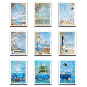 Decoupage Rice Papers - All Seas