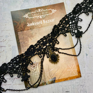 Junkyard Bazaar - Lace Necklace