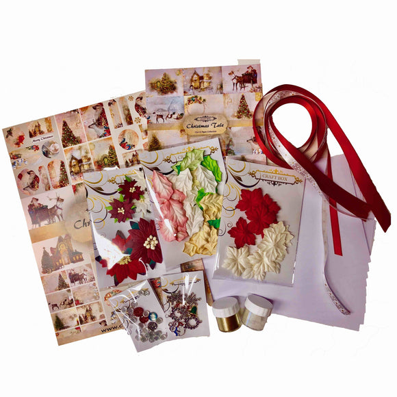 Christmas Card Making Bundle by Craft Box