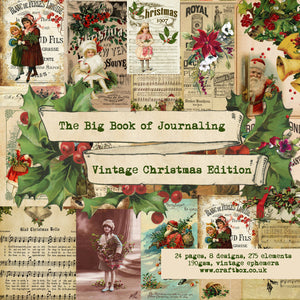 The Big Book of Journaling Vol 2, Vintage Christmas