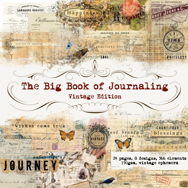 The Big Book of Journaling Vol 1, Vintage Edition
