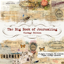 Load image into Gallery viewer, Ultimate Journaling Pack: Big Book of Journaling and Ephemera Saver Bundle