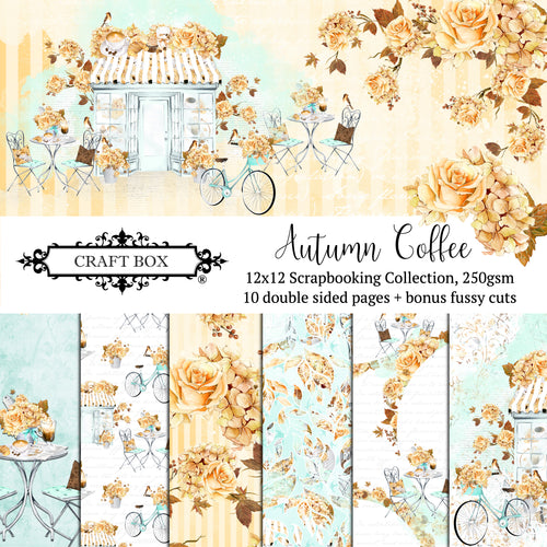 Autumn Coffee 12x12 Scrapbooking Collection
