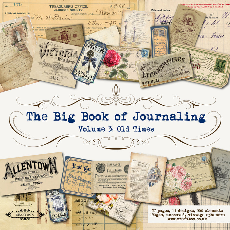 The Big Book of Journaling Vol 3, Old Times