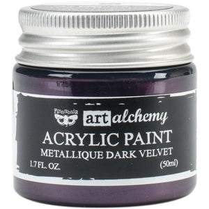 Art Alchemy Metallique Acrylic Paint - Dark Velvet