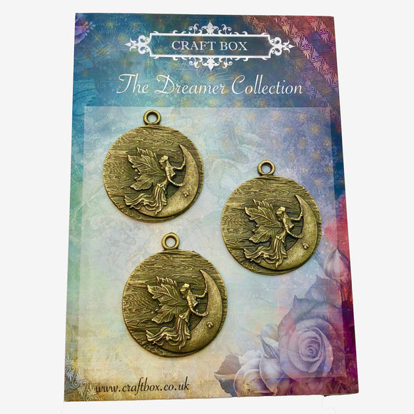 The Dreamer Collection - Fairy Brass Medallions
