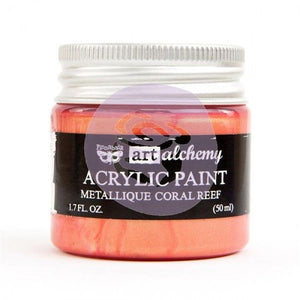 Art Alchemy Metallique Acrylic Paint - Coral Reef