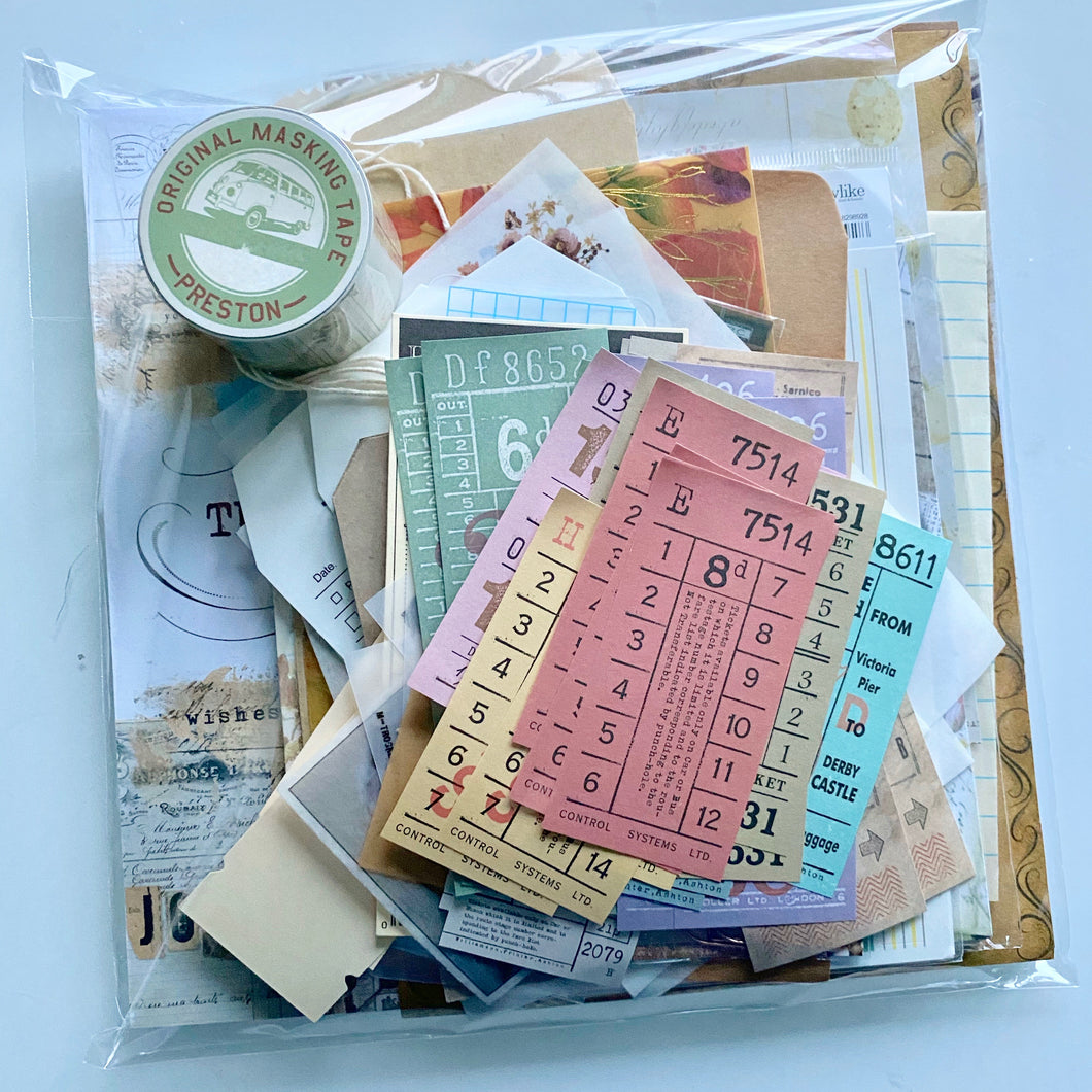 Ultimate Journaling Pack: Big Book of Journaling and Ephemera Saver Bundle