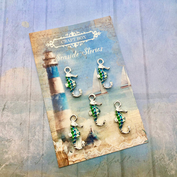 Seaside Stories - Silver Plated Seahorses