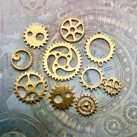 Steampunk City - Cogs Gold