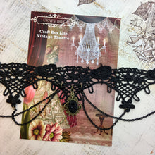 Load image into Gallery viewer, Lite Replay - Vintage Theatre Lace Choker