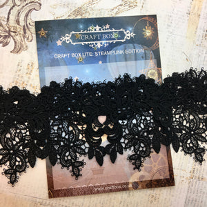 Lite Replay - Steampunk black lace