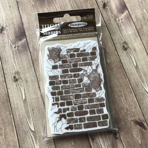 Stamperia Stamp Brick Wall