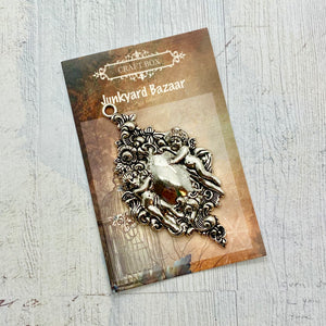 March Savers: Junkyard Bazaar - Cherub Pendant