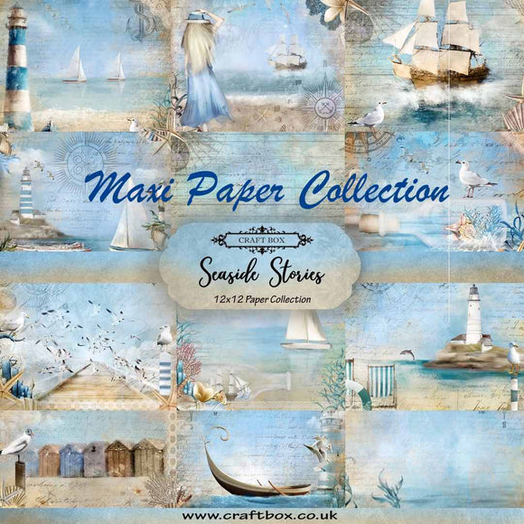 Seaside Stories 12x12 Mega Paper Collection