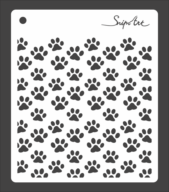 SnipArt Stencil - Meow Collection - Cat Grid