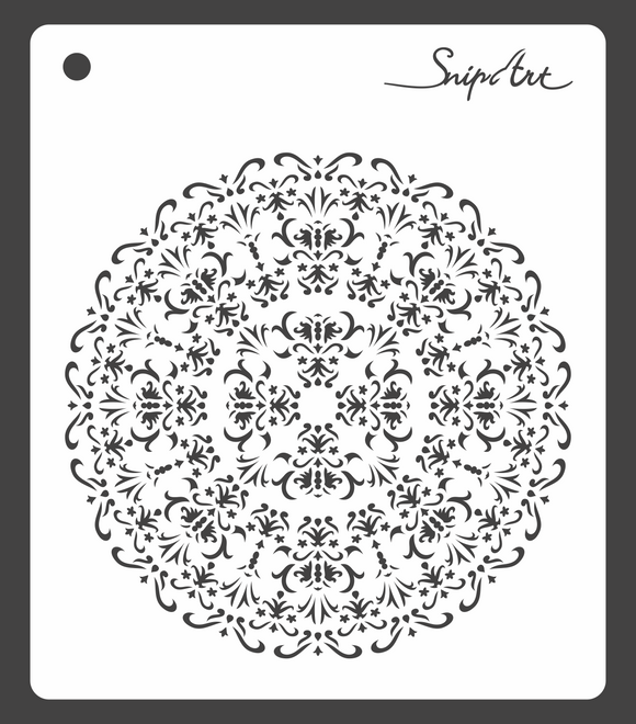 SnipArt Stencil - Intricate Doily