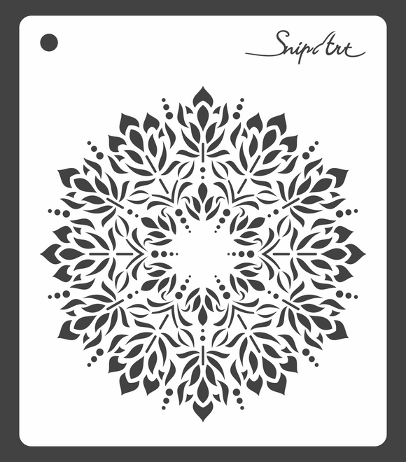 SnipArt Stencil - Ice Doily