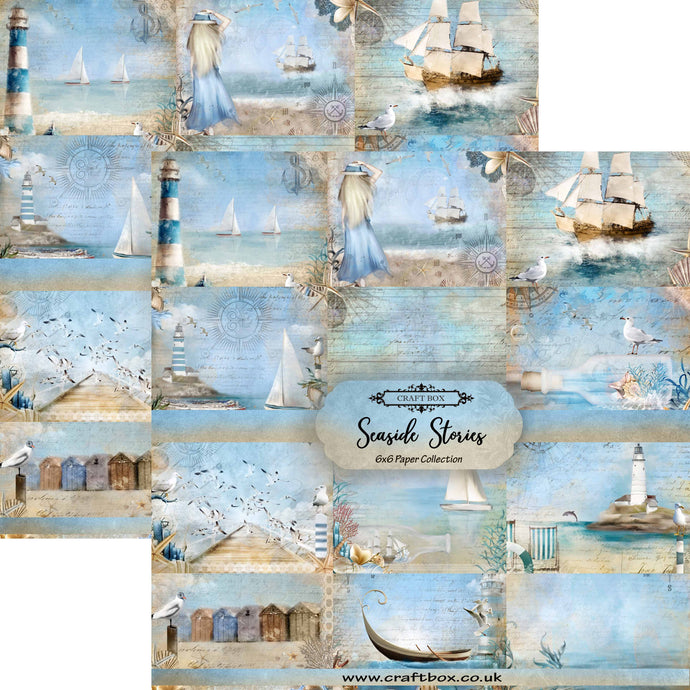 Seaside Stories 6x6 Paper Collection DUO PACK