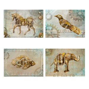 Steampunk City Limited Edition Postcards Set 1
