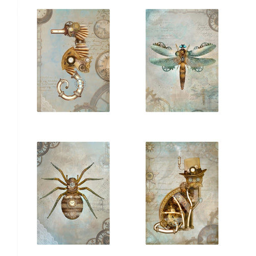 Steampunk City Limited Edition Postcards Set 2