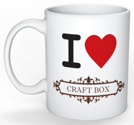 Craft Box Mug - I (Heart) Craft Box